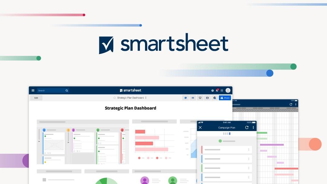 Smartsheet Dashboards Gantt Charts Desktop and mobile